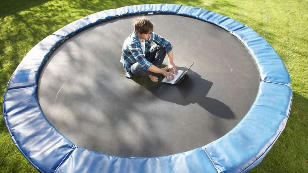 A recruitment trampoline